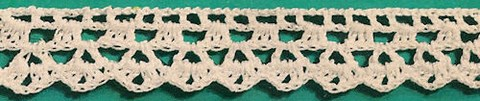 Dentelle au crochet - Bordure 3