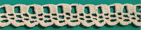 Dentelle au crochet - Bordure 4
