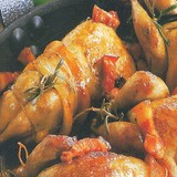 CAILLES FLAMBEES - RECETTE GOURMANDE